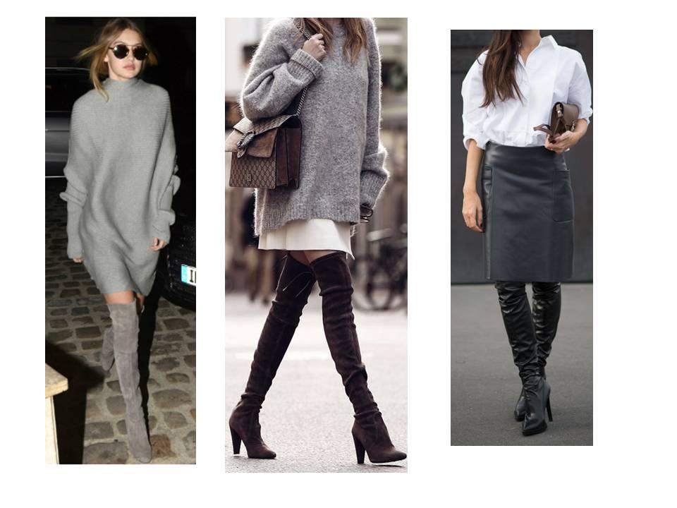 43d22c5bf83 Už víte jak nosit kozačky nad kolena  - Osobní módní stylista