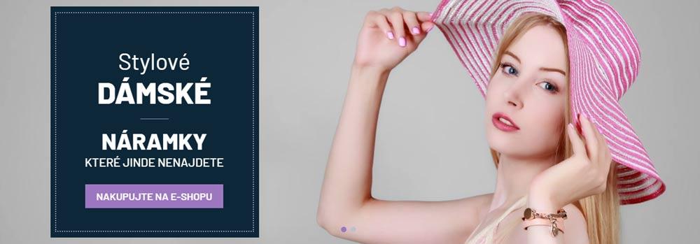 Náramky pro dámy, stylové dámské náramky