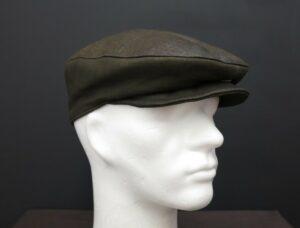 kožená pánské čepice