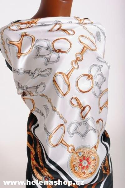 velký šátek, stylové vánoční malé dárky